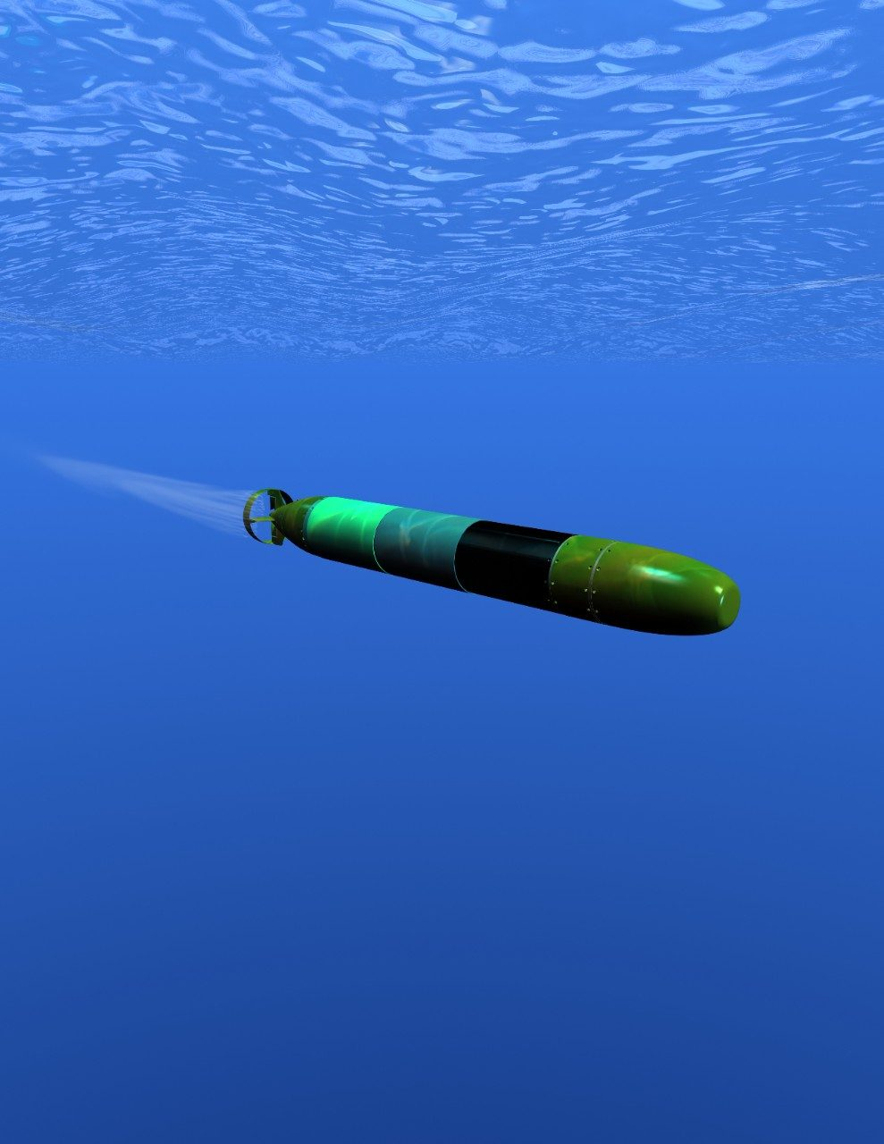 A-Size Autonomous Underwater Vehicles
